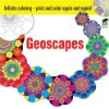 geoscapes coloring book with CD by hop david