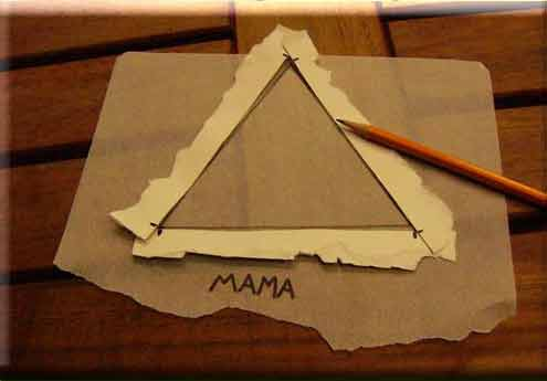 Do it yourself tessellations tracing paper triangle spin step 5 of 28 line up the dots and trace that triangle onto the mama paper solutioingenieria Gallery