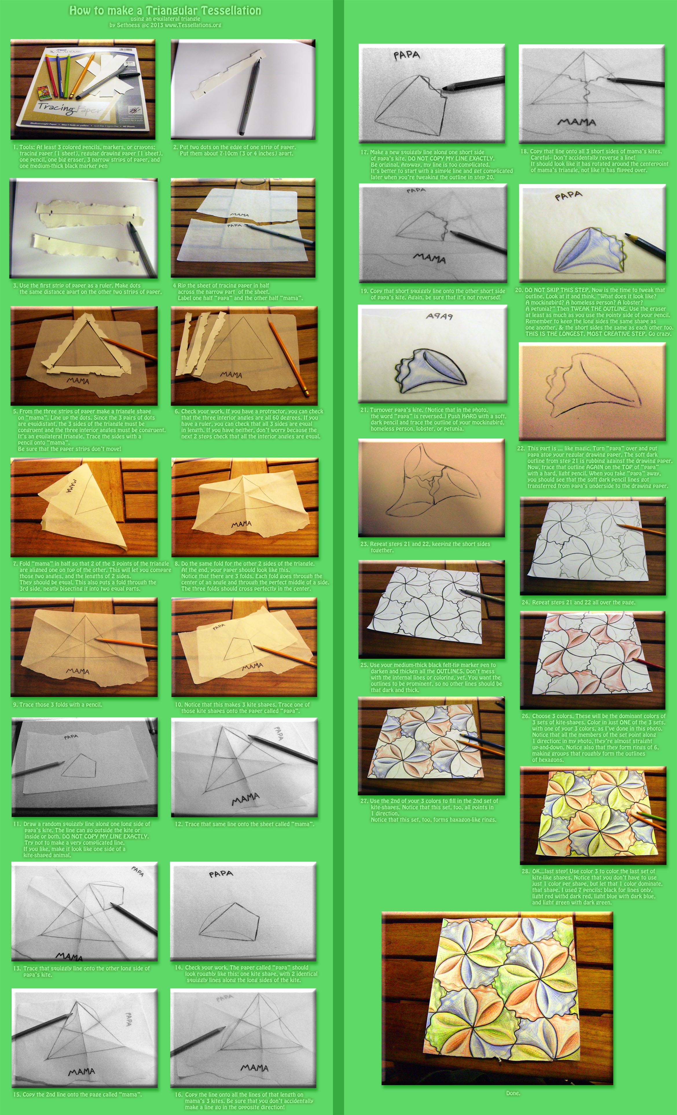 Do it yourself tessellation tracing paper triangle spin jpg version 11 mb solutioingenieria Gallery