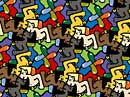race-boys tessellation art by doctor david