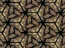 turtle motif tessellation art