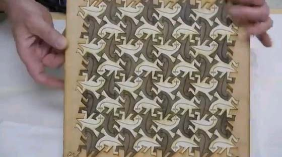 Tessellation In Real Materials 24 Wooden Chessboards With