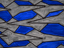 Bluebird and Cat tessellation by Paul Davey