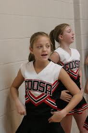 Coosa Middle School cheerleaders
