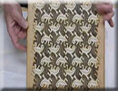 Escher Lizard Tessellation And Turtle On Wooden Chess Boards
