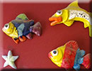 Fish tessellation art from Make A Fish Foundation