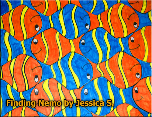 Guest School Gallery 5 Quot Finding Nemo Quot By Jessica S